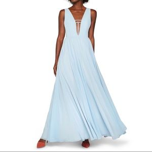Fame & Partners Ice Blue Summer Angel Dress
